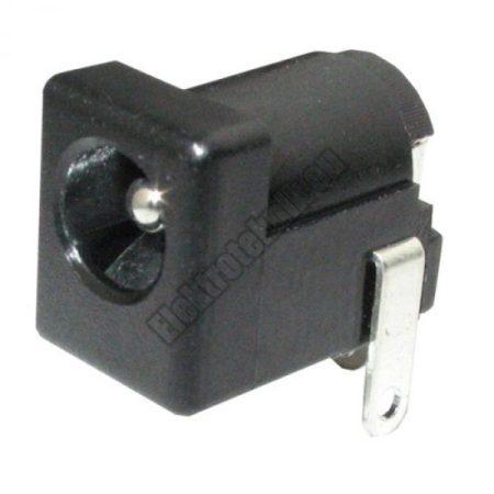 DC55C-2.0 DC aljzat 5,1 x 2,0mm beépíthető.