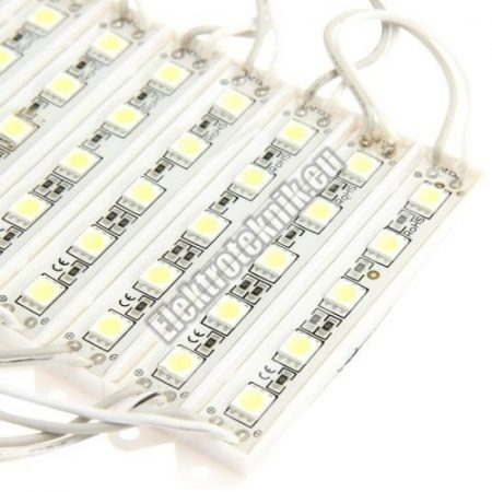 E062  LED modul hideg fefér 0,24W.