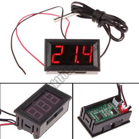 E090   Digitális LED hőmérő