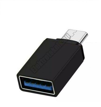 E130BK USB Adapter USB-C 3.1 dugó - USB 3.0 aljzat.
