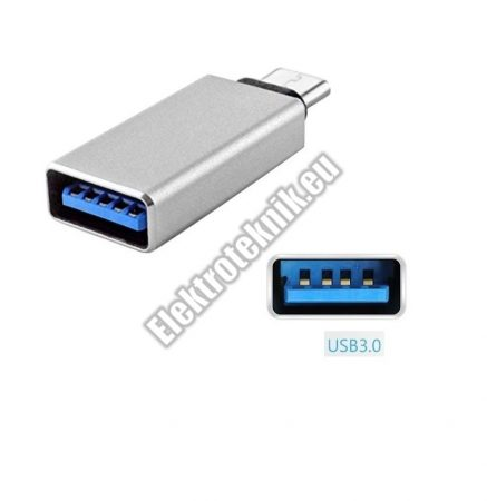 E130SI USB Adapter USB-C 3.1 dugó - USB 3.0 aljzat.