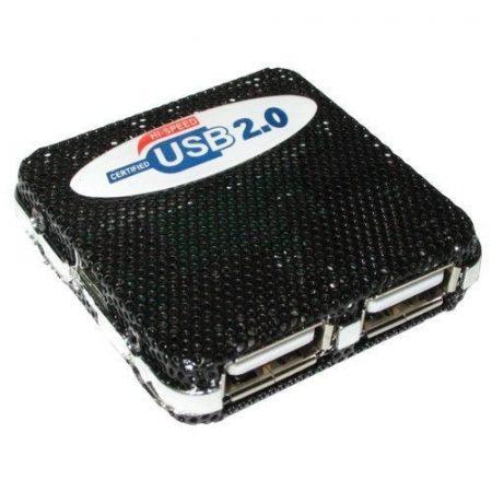H04 USB hub 4 portos