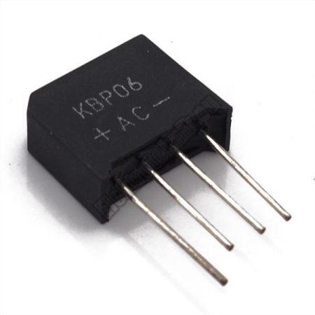 KBP06 Graetz dióda 1.5A/600V