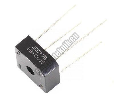 KBPC606 Graetz dióda 6A/600V