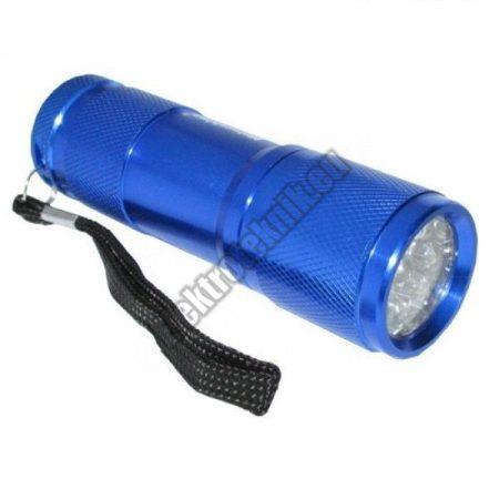 MAT-LR03-PUN led lámpa 9 ledes kék