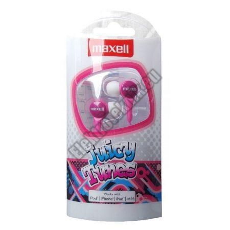 MAXEU-JT-PK Maxell sztereó fülhallgató (pink)