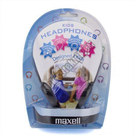 MAXEU-KHP-B Maxell Fejhallgató Gyerekeknek, Kék