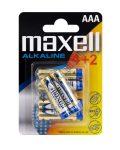 MAXEU-LR03-B6 Maxell Alkaline elem AAA