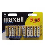 MAXEU-LR6-B10  Maxell Alkaline elem AA