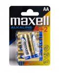 MAXEU-LR6-B6 Maxell Alkaline elem AA
