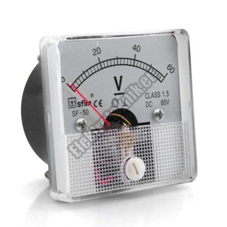 SF5012 Analóg DC feszültségmérő