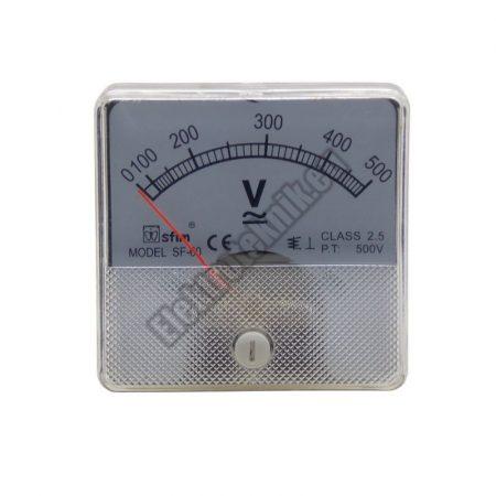 SF6014 Analóg AC / DC feszültségmérő