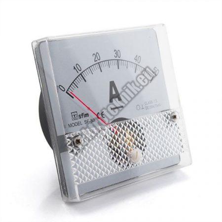 SF8011 Analóg DC ampermérő
