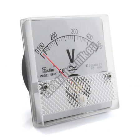 SF8013 Analóg AC / DC feszültségmérő