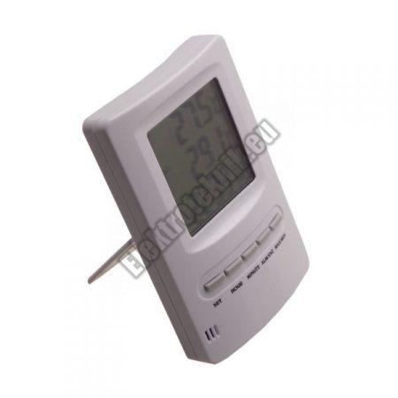 T-9232 Digitális vezetékes külső és belső hőmérő órával