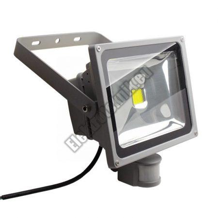 WPFL-1030S LED reflektor mozgásérzékelővel és alkonykapcsolóval, 30W